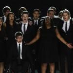 Glee Cast's Sad Goodbye to Cory Monteith