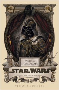 shakespeare, star wars, books