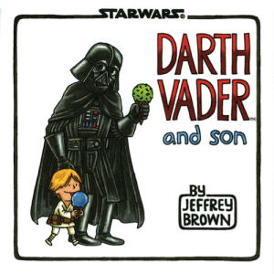 darth vader, star wars gifts, star wars, children's books, darth vader and son