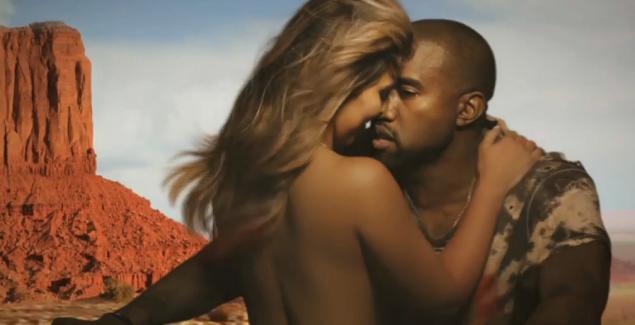 Kardashian topless