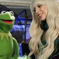 lady gaga, muppets