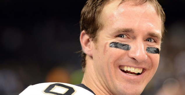drew brees, saints, fantasy football
