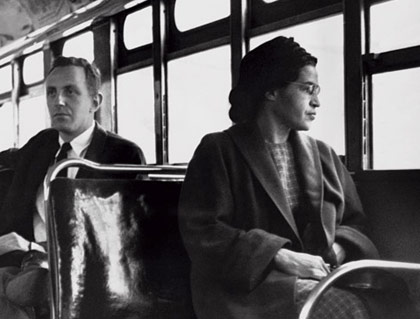 rosa parks, bus, racism over says gop, gop twitter