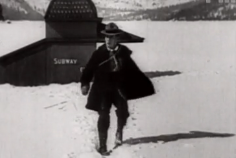 buster keaton, the frozen north, classic cinema