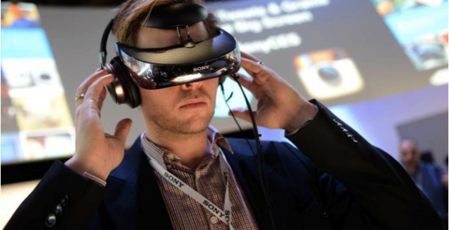 CES, gadgets, sony head mounted display