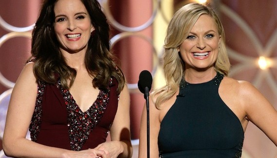 Tina Fey, Amy Poehler, Golden Globes 2014