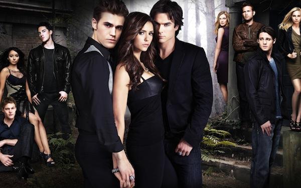 cw, vampire diaries, 100th episode