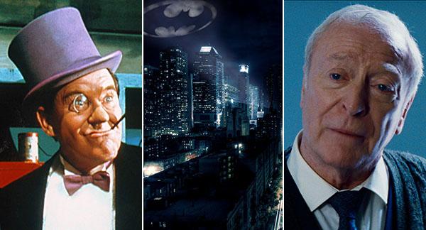 Batman Penguin Alfred