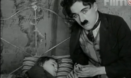 charlie chaplin, on demand, footlights, the kid