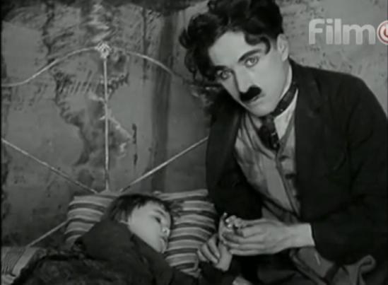 charlie chaplin, on demand, footlights, the kid