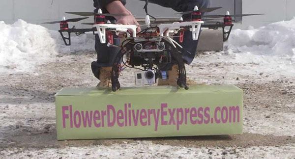 Flower Drone