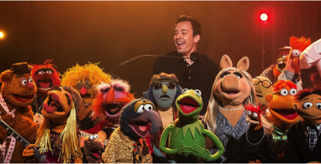 jimmy fallon, last late night, muppets