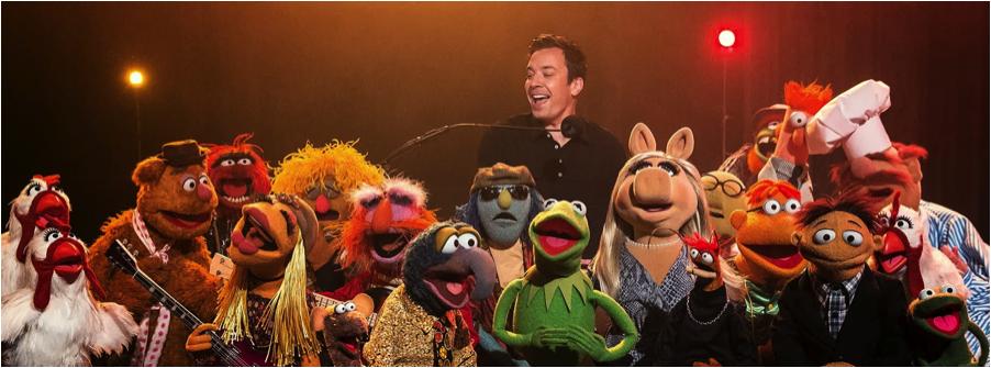 jimmy fallon, last late night, muppets