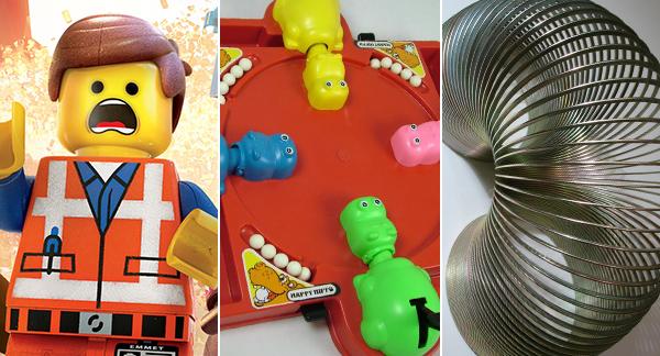 Lego Hippos Slinky
