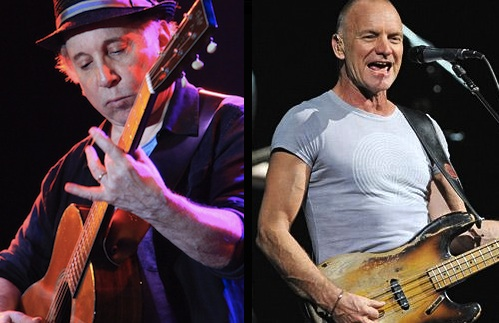 Simon, Sting, Tour