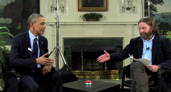 Obama Zach Galifianakis