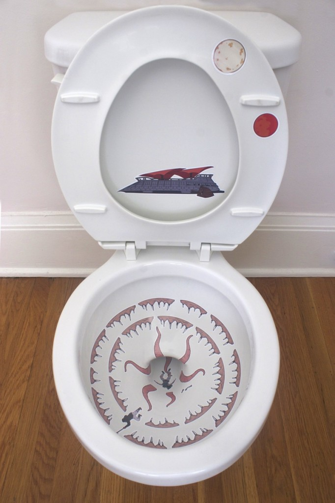 robbie rane, star wars, toilet bowl