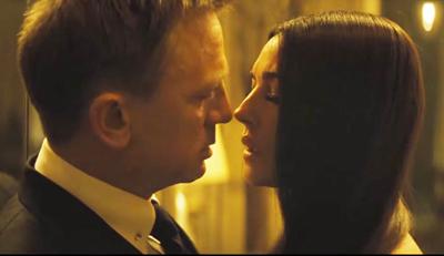 James Bond: Daniel Craig & Monica Bellucci