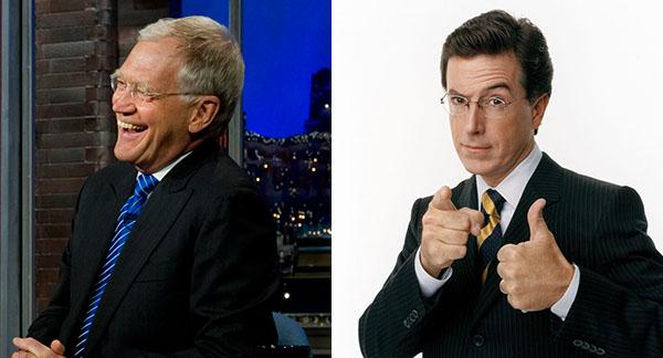 Letterman Colbert