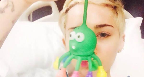 Miley Cyrus Sick