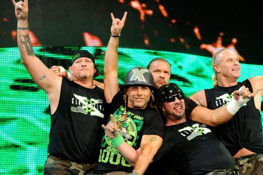 WWE old stars